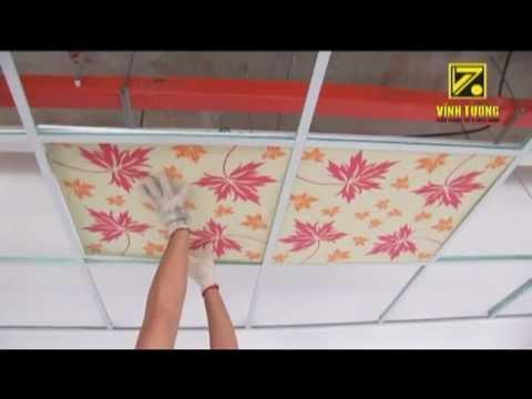 Hướng dẫn thi công trần nổi - sử dụng hệ khung trần nổi Vĩnh Tường TopLINE