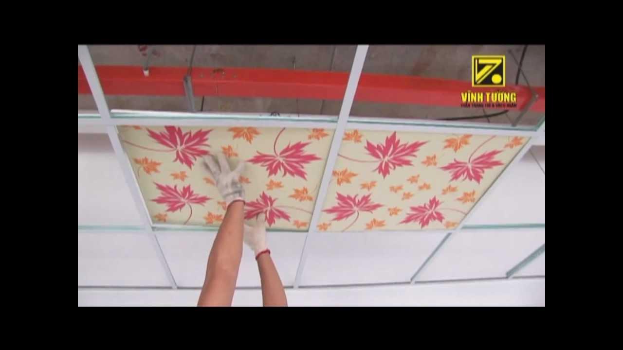 Hướng dẫn thi công trần nổi (2010 – Cũ) – sử dụng hệ khung trần nổi Vĩnh Tường TopLINE