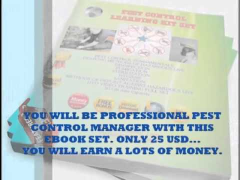 Most needed in the world, pest control e-book