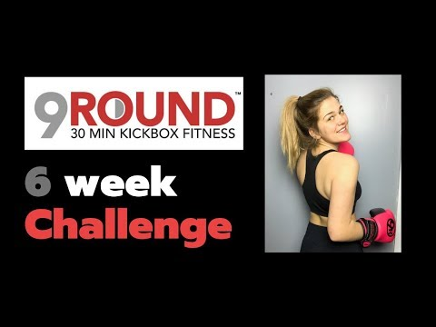9round Kickboxing Results // 6 Week Challenge Review