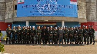 HEBOH !!! Video TNI Mendapat Gelar Pasukan Emas Oleh PBB