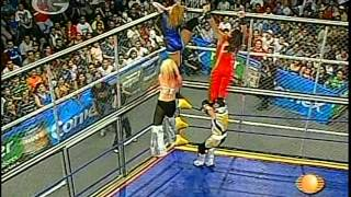 AAA: Fabi Apache, Aero Star vs. Sexy Star, Billy Boy, 2009/08/21 [cage, mask/hair]