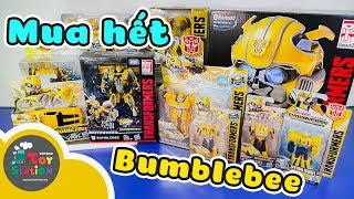 Cơn sốt bé ong vàng Bumblebee Transformer mua luôn nón full đầu tuyệt đẹp ToyStation 300