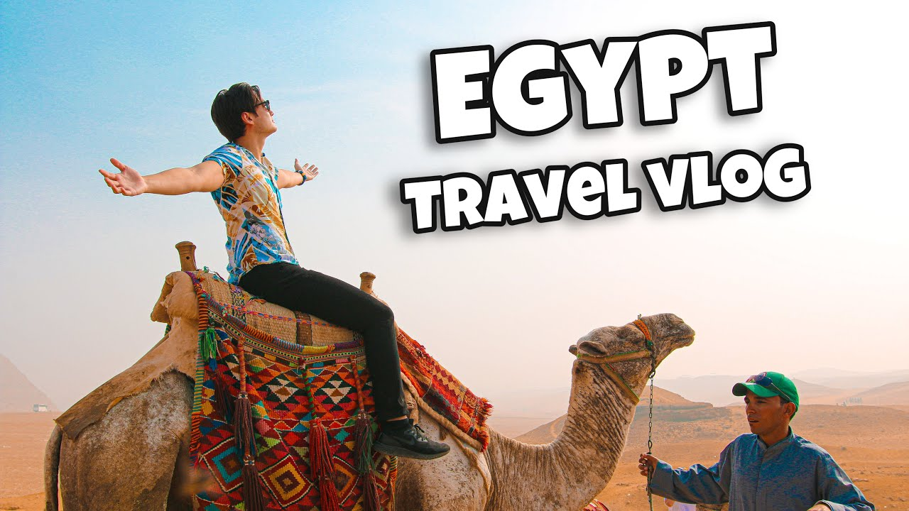 I TOUCHED the GREAT PYRAMID of GIZA!! (EGYPT travel vlog 2019)