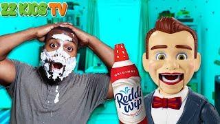 Benson The Dummy Pranks ZZ Dad! (Toy Story 4 Toys Help!!)