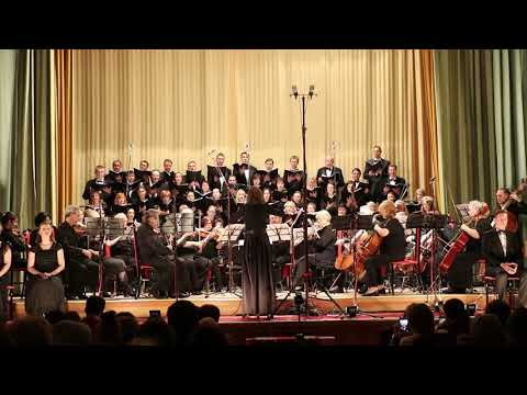 Mozart Requiem. Lacrimosa. Хоровая капелла Lux Mundi.