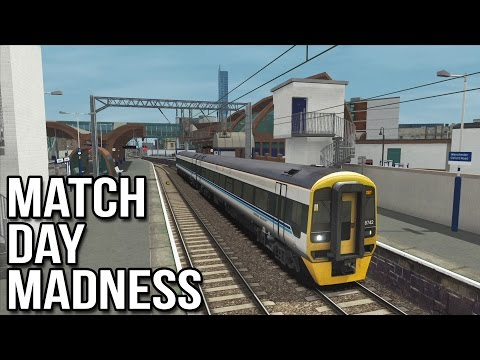 TS2015 - Match Day Madness (Class 158 Regional)