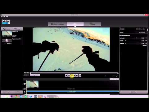 Add Audio From iTunes  GoPro Studio 20: GoPro Tips and Tricks