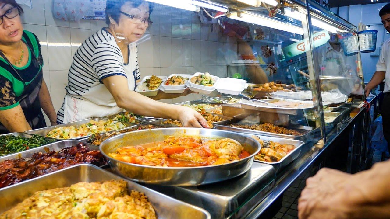 Singapore Local Food Soon Chinese Teochew Porridge Restaurant
