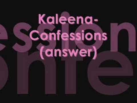Kaleena-Confessions (answer 2 usher)