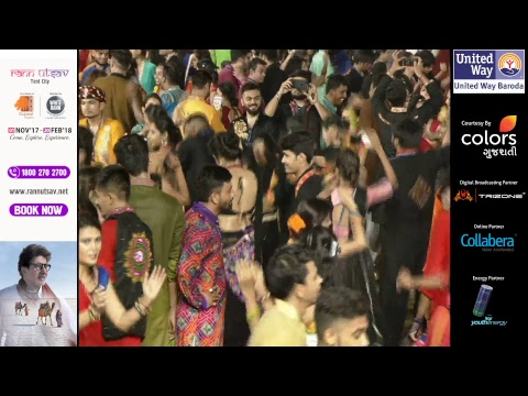 United Way Baroda - Garba Mahotsav With Atul Purohit - Day 3 - Live Stream