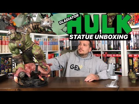 Gladiator HULK Maquette Statue Unboxing & Review | Sideshow Collectibles