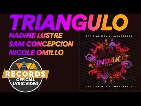 Triangulo - Nadine Lustre, Sam Concepcion & Nicole Omillio [Official Lyric Video]