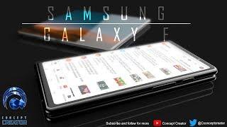 """هاتف سامسونج القابل للطي """" Galaxy F """" يظهر في فيديو تخيلي رائع - إلكتروني"""