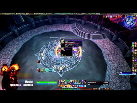 Mage solo - ICC (Icecrown Citadel) 25 man Heroic (10/12 + Saurfang NM) - Patch 5.4.7 - 580 ilvl