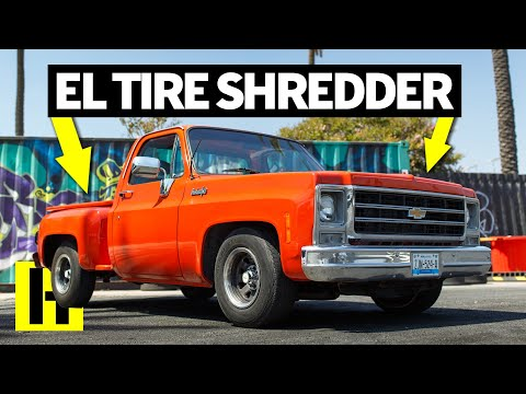 Chevy C10 Burnout Machine That Drove up From Mexico!