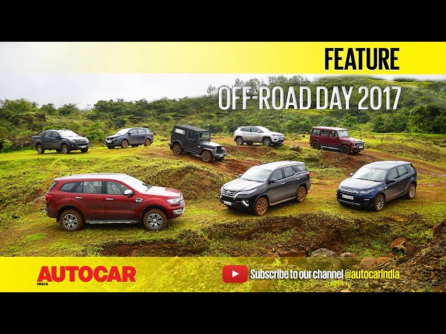 Off-Road Day 2017   Feature   Autocar India