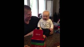 Baby belly laugh at Jack in the Box