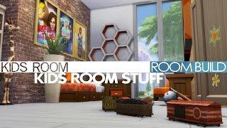 The Sims 4 Room Build - Kids Room (Kids Room Stuff Pack)