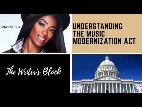 Tami  LaTrell - Understanding The Music Modernization Act