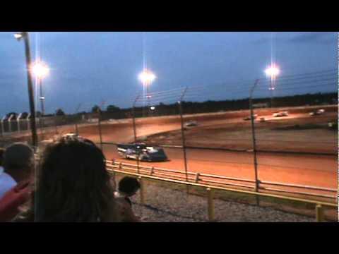 Chandler Petty Wins Drew County Speedway Heat race