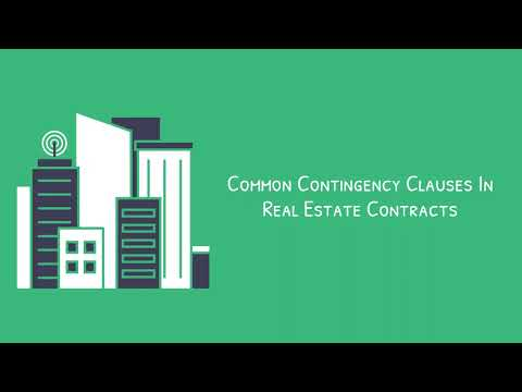 Common Contingencies in Real Estate Contracts | Justo