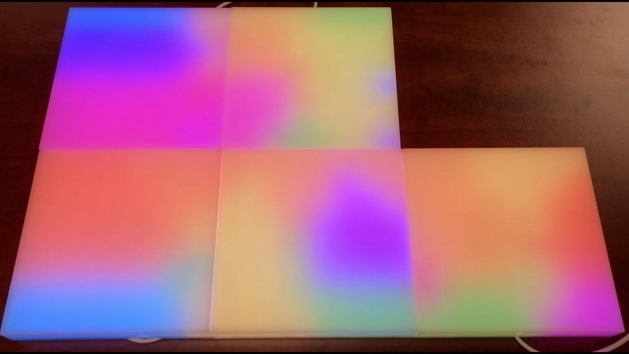 lifx tile kit l3tilekitin mit 5 smarten led panels fur 135 90