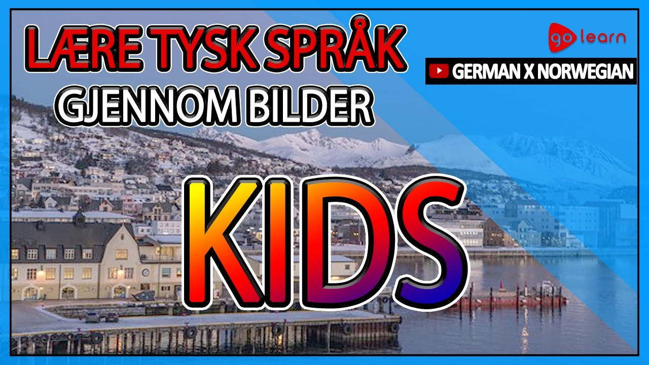 Lære Tysk språk Gjennom Bilder |Tysk språk Vokabular Kids | Golearn
