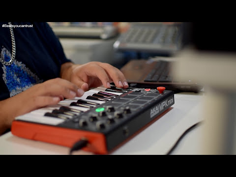 Making a beat Akai MPK Mini MK2 Ep68