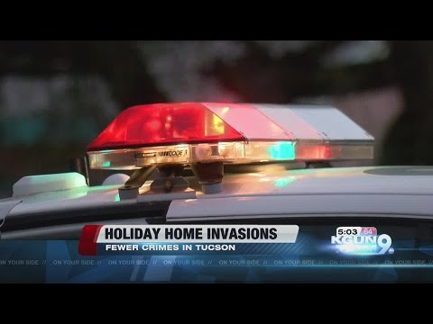 Home invasions decreasing in Tucson