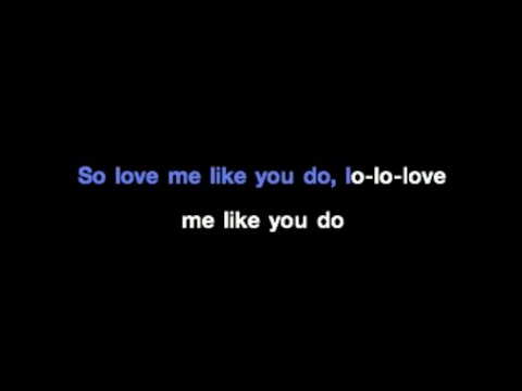 Ellie Goulding - Love Me Like You Do Karaoke