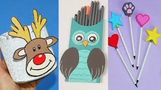 36 DIY School Supplies | Paper crafts for school