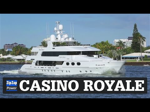 CASINO ROYALE | YAY! Another James Bond Yacht!