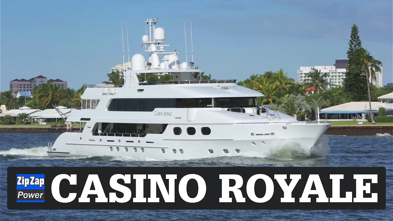 the casino royale yacht