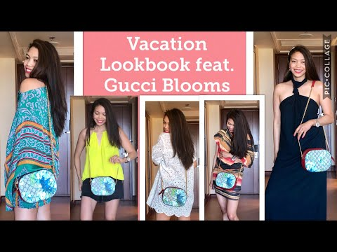 Vacation Look-book Feat. Gucci Blooms Camera Bag