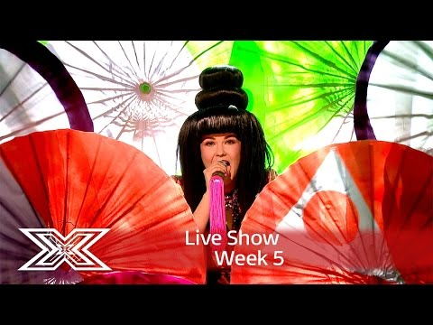 Saara rocks out to Girls Aloud's Sound of The Underground | Live Shows Week 5 | The X Factor UK 2016