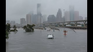 Massive floods from Hurricane Harvey in Houston, TX! MAJOR DISASTER MUST WATCH!