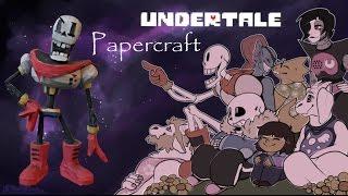 Undertale Papercraft: Papyrus!