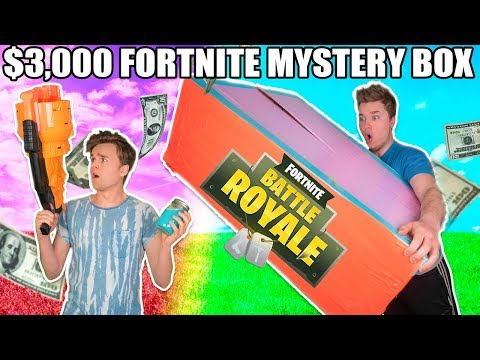 $3,000 FORTNITE EBAY MYSTERY BOX Fortnite Gear, Toys, Skins & More!