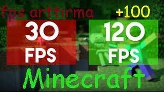 Minecraft Fps Arttırma & Optifine Ayarları ! (+100 FPS GARANTİ)