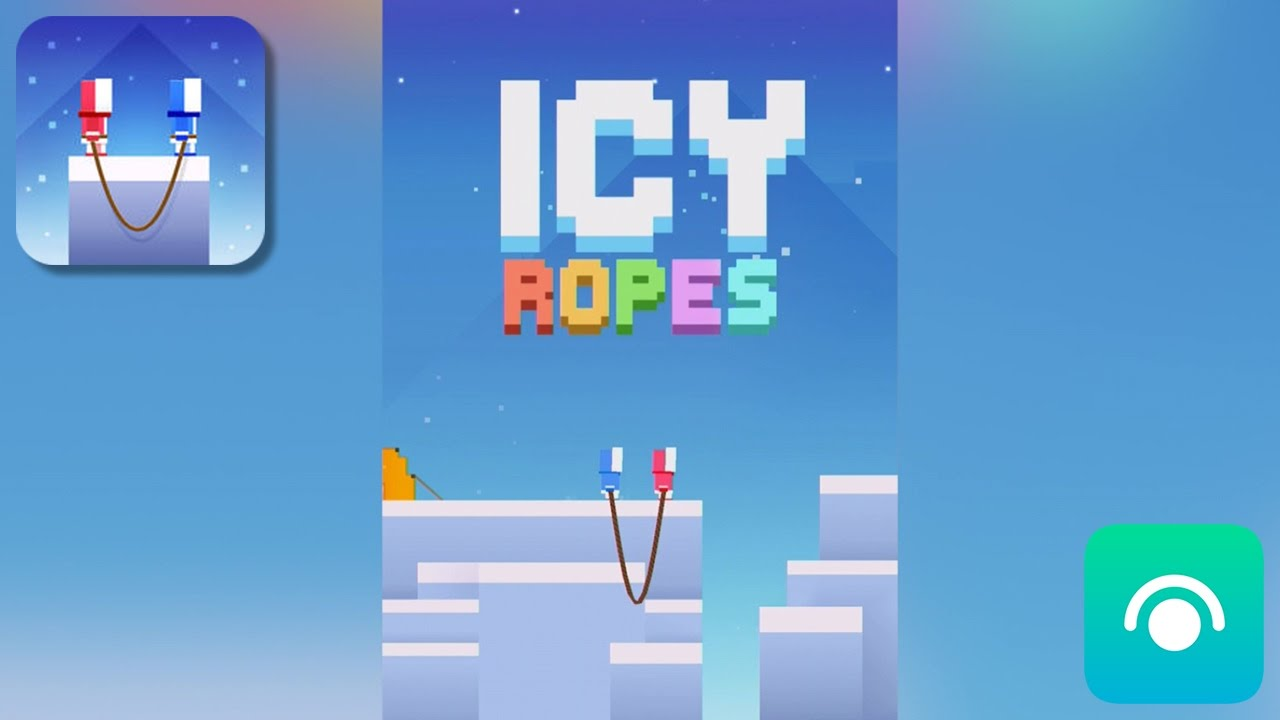 Icy Ropes - Gameplay Trailer (iOS)