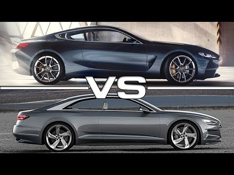 2018 BMW 8 Series vs Audi Prologue Concept