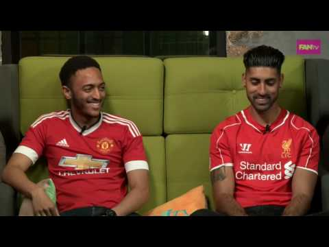 Liverpool vs. Man Utd Pre-match Fan Interview | FANTV