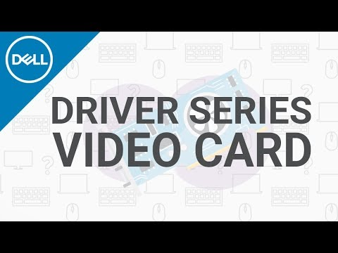 How To Install Video Card Drivers Windows 10 (Official Dell Tech Support)