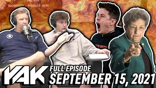 Rank The Bigger Beef: Brandon v Vibbs & Sas v His Grandma   The Yak 9-15-21