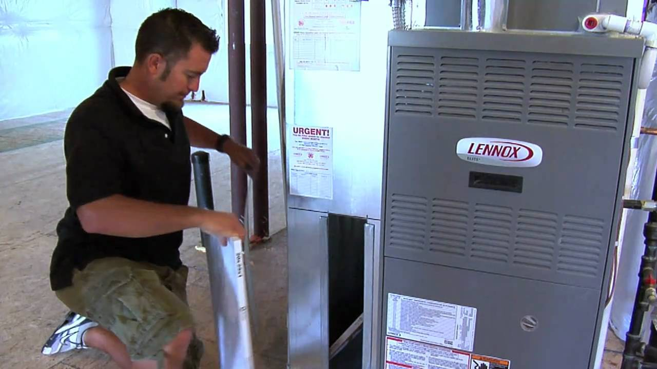 How To Replace A Furnace Filter Mov Youtube