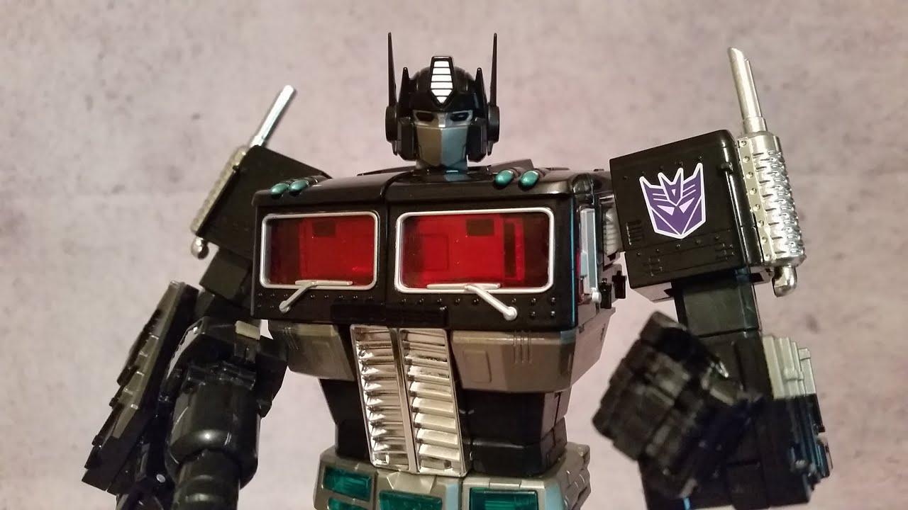 Takara Transformers Masterpiece MP-10B Black Convoy Nemesis Optimus Prime