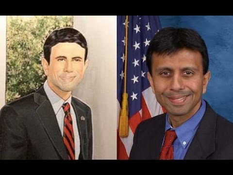 Why Is Bobby Jindal Whiter In His Portrait?