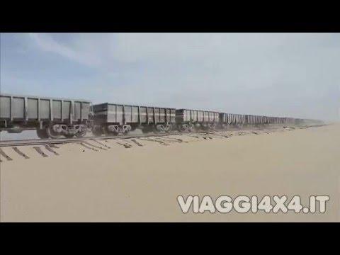VIAGGI4X4.IT MAURITANIA - IL TRENO DEL FERRO