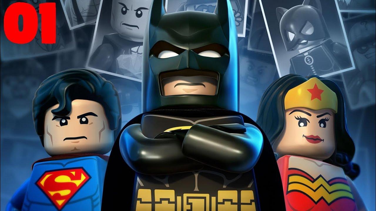Jogando LEGO BATMAN 3 no celular:fase 1🎮 - YouTube